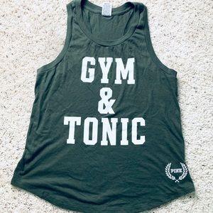 Gym & Tonic Razorback Tank Top | Workout Top